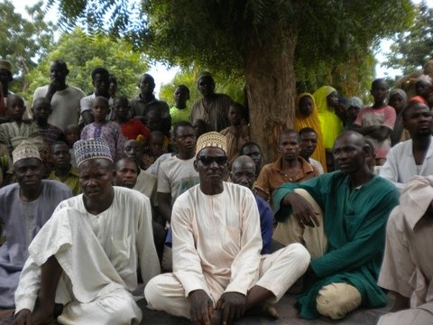 Village meeting, Katsina, Nigeria Credit: S.Meredith